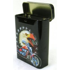 Cigaretta doboz fém