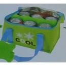 Hűtőtáska dobozos üdítőknek, sörnek