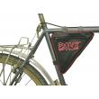 Kerékpáros táska váztáska kerekített